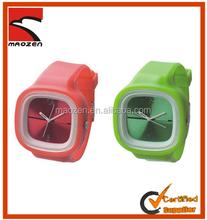 Hot selling popular digital silicone slap watch