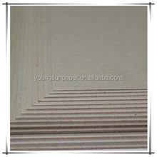 3mm grey board/paper mill for sale boxes cardboard