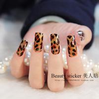 2015 hot sale newest design custom flash art rhinestone nails sticker