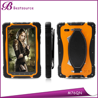 7inch rugged tablet pc MTK6589 Quad core 1G+16G 1024*600 IPS 3G GSM GPS NFC Wifi Bluetooth Tablet PC