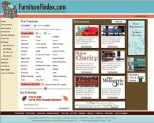 Furniture Showroom and Search Engine web site