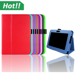 "Case For Amazon Kindle Fire HD 7"" Folio PU Leather Flip Stand Case Smart Cover"