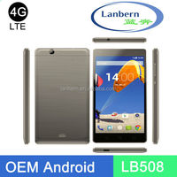 Cell phone manufactory for lte MT6735M/MT6735P oem android 5.0 phone android 8gb LB508