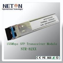 1x9 1.25G 1310nm 2km Fiber Optical Transceiver Module
