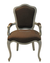 French provincial Louis WOOD Dining Chair,French louis side chair/french wooden luis dining arm chair