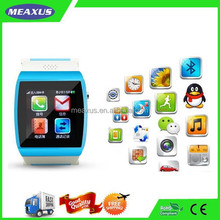Smart Watch Phone,Capacitive Touch Screen Handsfree Bluetooth SmartWatch Mobile Phone MP3 FM Radio Function with Sim Card Slot