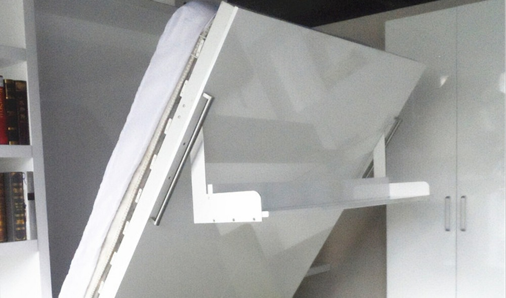 현대적인 공간 절약 숨겨진 벽 침대, 접는 머피 벽 침대 디자인 ...