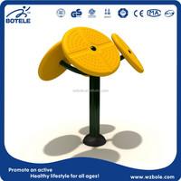 cheap outdoor fitness equipment entertainment equipment Taichi Standing Spinner exercise equipment for elderly body building