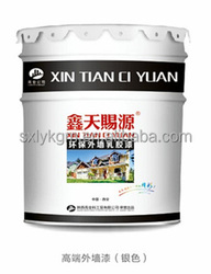 Formaldehyde Free Acrylic Emulsion Exterior Wall Coating building coatings