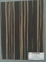 reconstituted wood veneer ebony veneer sheet with FSC certificated for door skin and furniture surface EBONY-1013S