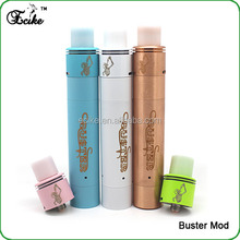 New herb vaporizer 2015 mechanical mod electronic cigarette buster 1:1 clone magnet switch smpl mod