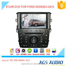 AGS special 8'' touch screen car dvd player for FORD MONDEO 2013