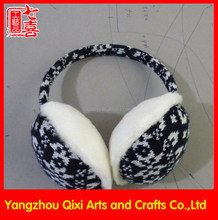 Hot selling knitted fashion earmuff for winter