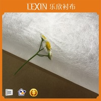 hot water soluble non woven fabric for embroidery backing use dissolved in water