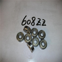 hot sale minature ball bearing 608 zz 2RS for electr skateboard / electr scooter