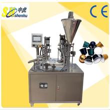 profesyonel nespresso kahve kapsül yapıştırma makinesi büyük fiyat
