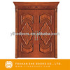 2015 canton fair wooden fashion carved customer design hot sale factory wholesale interior double doors
