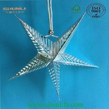 2015 JINGLE BELLS printting paper star lantern
