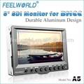 5 pulgadas lcd hdmi 1080p hd de pantalla del monitor de alambre controlador remoto osd para
