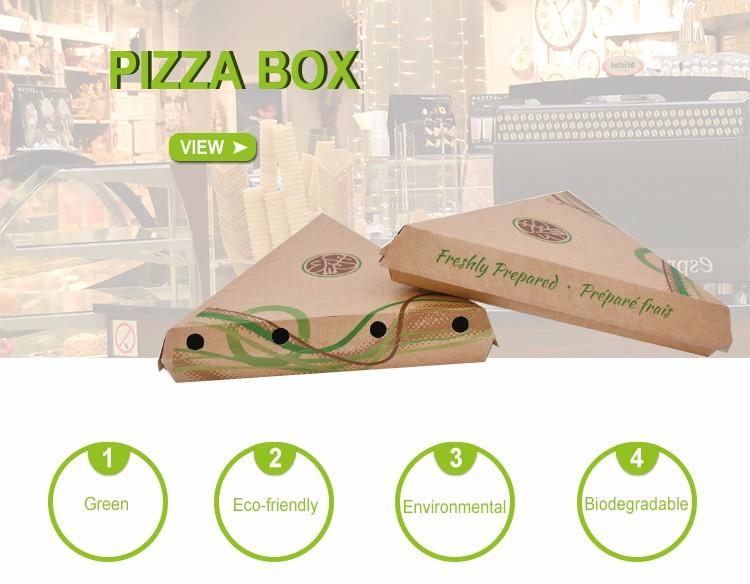 Hot conception emporter vrac papier boîtes à pizza