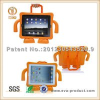Kids Anti Shock Protective EVA case for ipad/2/3/4 with Handle and Stand
