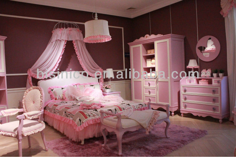 Romantice Teens Bedroom Furniture Barbie Princess Bedroom
