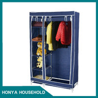 3-track sliding closet door wardrobe