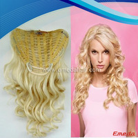 AAAAA grade top quality wholesale price double weft 12-36 inch golden queen king hair extensions