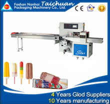 Back Seal Ice Cream Stick Wrapping Machine
