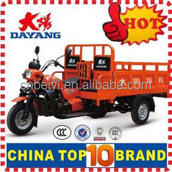 2015 OEM customise Hydraulic tipper 250cc cargo passenger tricycle with Gasoline Engine