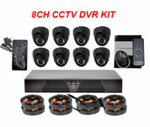 Indoor Home Safety Protection CMOS 1000 TVL CCTV HD Security Camera System