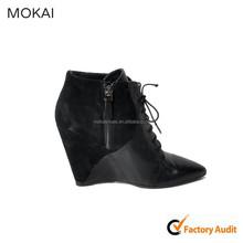 137W14-Black fashion lady dress shoes