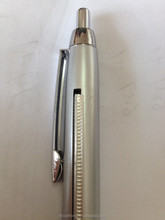 Metal barrel logo promotion automatic pull out banner ballpoint pen & advertising pen CH-6520