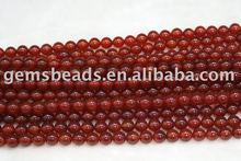 agate carnelian round beads