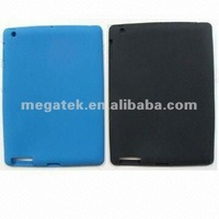 Tablet case ultra thin soft rubber Silicone case for ipad 2 3 4 slim fit