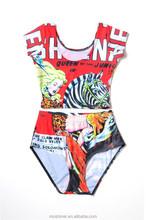 2015 sexy girl micro bikini swimwear models, Printing Swimswear two-piece Swimsuits plus size S125-202