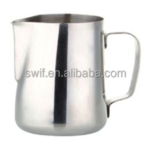 1000ml flare stainless steel milk pitcher/measuring/water jug