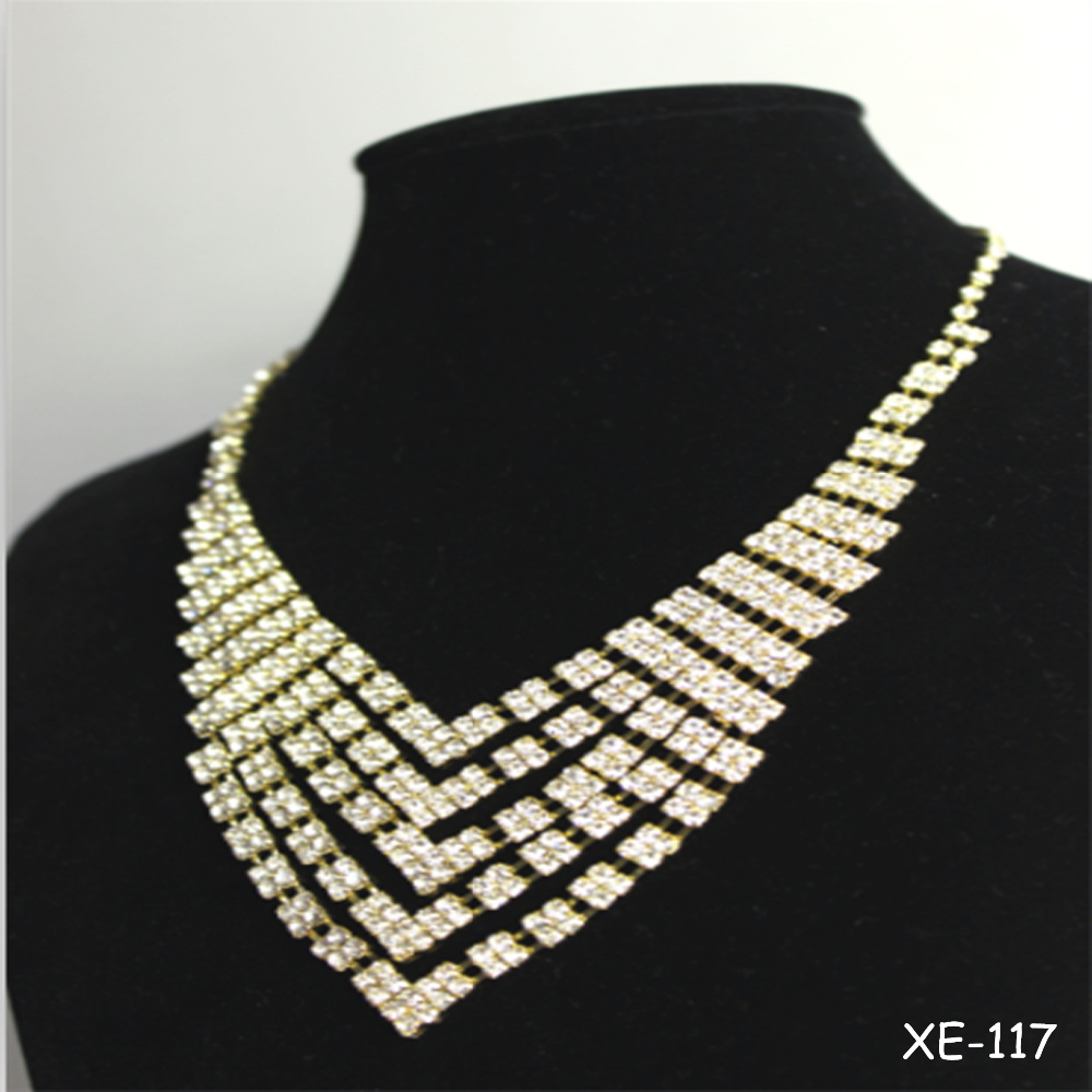 Hot sale long chain jewelry set bridal jewelry sets china for Jewelry sale online shopping
