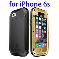 Alibaba express LOVE MEI original waterproof metal case for iPhone 6s