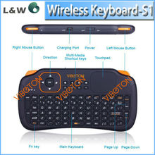 s1 Mini wireless keyboard&fly air mouse s1 black Remote air fly mouse for smart tv box