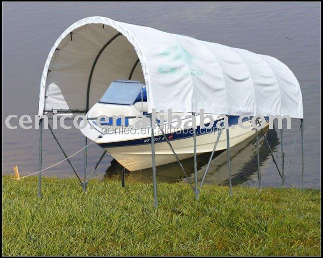 Outdoor Shelters For Boats : Dock boat shelter car canopy tent storage