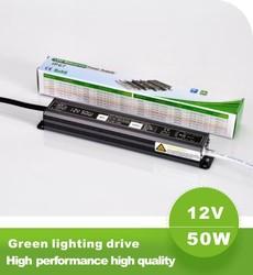 Shenzhen power transformer 220v to 12v led power supply waterproof ip67 50w led driver