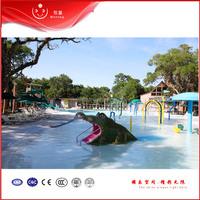 fiberglass themed pool kids sea horse slides for summer kids water play