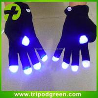 Party Item Type and Valentine's Day Occasion led lighting gloves/led finger light gloves/ led gloves wholesale China