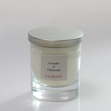 Shenzhen candle factory produce UK popular style scented jar candles with lid