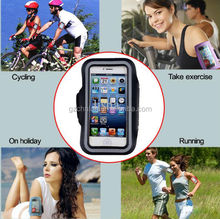 2014 Personalize Neoprene Mobile Phone Running Jogging Sport Armband for iphone 6 with Key & Earphone pocket