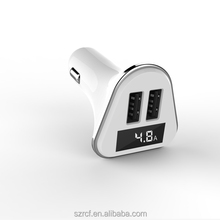 Alibaba China cheap car accessories portable intelligent dual usb port wireless charger for pc