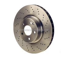 China High performance car front brake disc rotor with ISO Cets