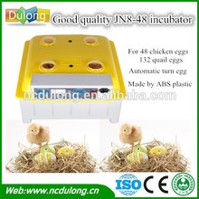 top sale poultry incubator for chick with egg incubator thermostat JN8-48