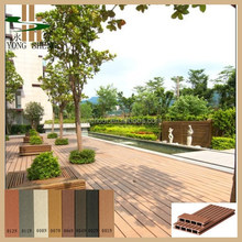 dark color wood plastic outdoor flooring/wood plastic composite sheet